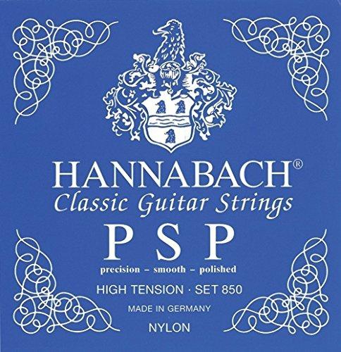 Hannabach Cuerdas para guitarra clásica, Serie 850 Tensión Alta PSP - juego 3...