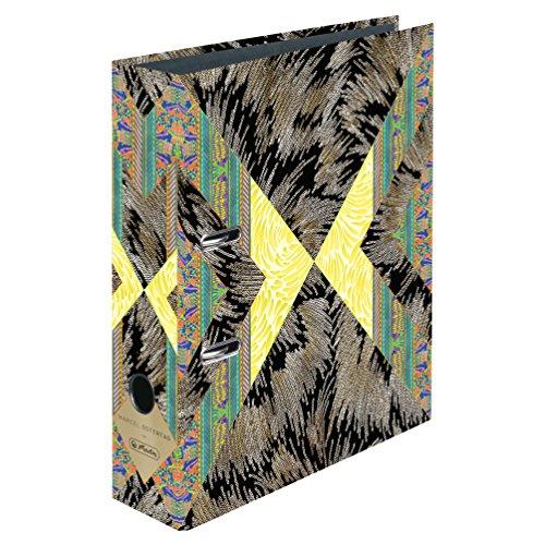 Herlitz 11417979-Raccoglitore maX. file A4, Marcel Oster giorno Modern Glam, 8cm, FSC (Raccoglitore Ad Anelli Files)