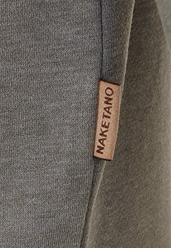 Naketano Male Sweatshirt Was diese Zielgruppe Heritage Dark Grey Melange