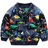 Giacca Bambino Invernali Dinosauro,Homebaby Giacca del Mantello del Cappotto di Inverno della Neonata Giubbotto Vestiti Caldi