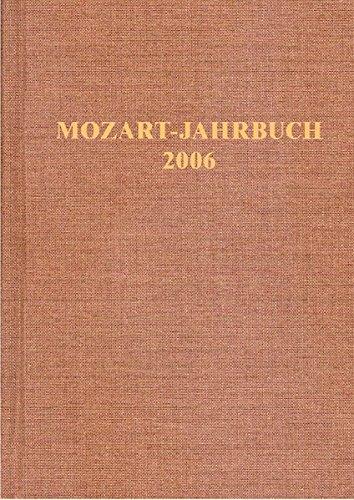 Mozart-Jahrbuch 2006