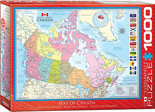 ��1.983,7cm Karte von Kanada