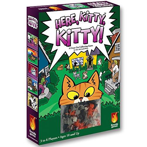 Fireside Games FSG02002 - Brettspiel 'Here Kitty, Kitty!'