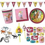 Bibi und Tina Partyset mit Pferden
