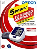 #4: Omron HEM-8712 Blood Pressure Monitor with 5 year extended warranty