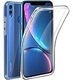 AURSTORE Coque 360 Degré Huawei Honor 8X – Protection intégrale Avant + Arrière en Rigide, Housse Etui Pochette Tactile…