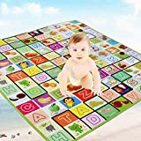Spandal Water Proof Baby Mat Carpet Baby Crawl Play Mat Kids Crawling Play Mat Carpet Baby Gym Water Resistant (Large)