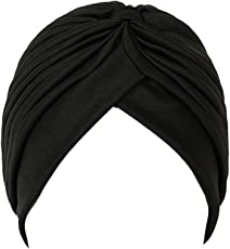 CASTO Traditional Indian Sardar Sikh Punjabi Dastaar Turban (Black)