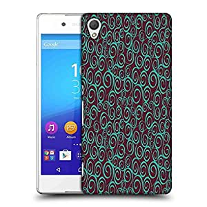 Snoogg floral seamless pattern Designer Protective Back Case Cover For Sony Xperia Z4 Compact