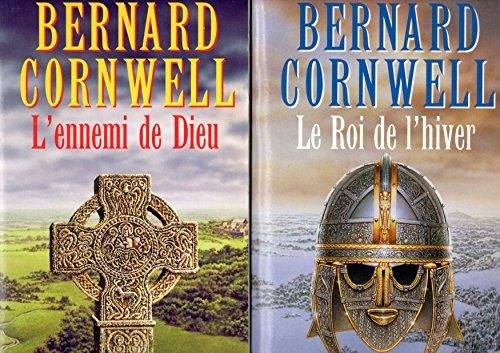 Bernard Cornwell, Romans arthuriens - 2 titres, 2 livres: Le roi de l'hiver + L'ennemi de Dieu
