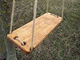 #5: AD Planet Outdoor Wooden Hanging Swing set/Jhula with Melamine Coating for Home and Garden,