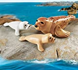 Playmobil 9069 - Robbe mit Babys