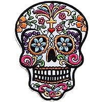 Amazon Fr Tete De Mort Mexicaine Bordures Et Ornements Couture