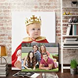 Your Image/Photo on Canvas 20x14 inches 18mm Thick Pine Stretcher Frame