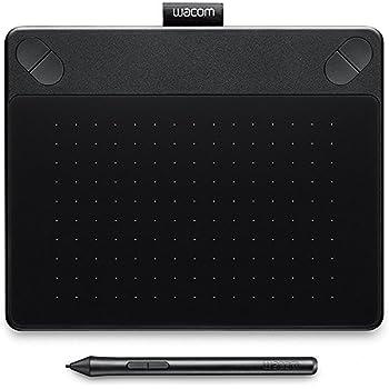 Wacom Intuos Art Small Tavoletta Grafica da Disegno Digitale con Penna Creativa 4K, Compatibile con Windows & Mac, con Software Creativo Corel Painter Essentials 5 Incluso, Nero