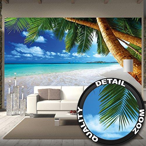 tapiz-de-foto-playa-de-palmas-mural-decoracion-caribe-playa-de-ensueno-bahia-paraiso-naturaleza-isla