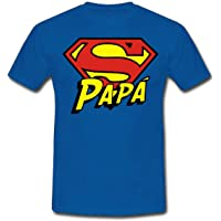 T-shirt uomo Super Papà, idea regalo divertente per la festa del papà, superman inspired!