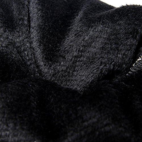 Inverno Casuali Chiusura Blocco Nera E Donna Bigtree Autunno Stivali Caldo Eclair Lungo Confortevole t0xZq