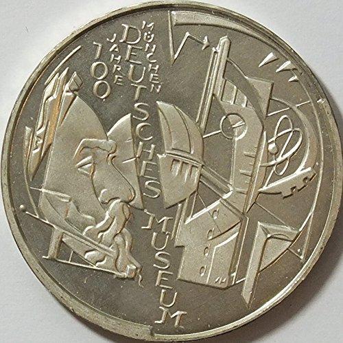 Münzen für Sammler BRD Schönnr: 108 (221) 100 Jahre Deutsches Museum, Stempelglanz 2003 10 Euro Silber