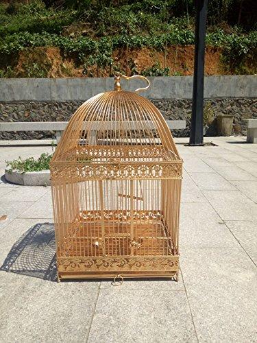 Pet Online Vogelkäfig square retro Metall große Betrachtungswinkel, XXL: 45 * 45 * 75 cm Käfige