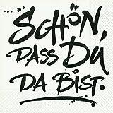 20 Servietten Schön