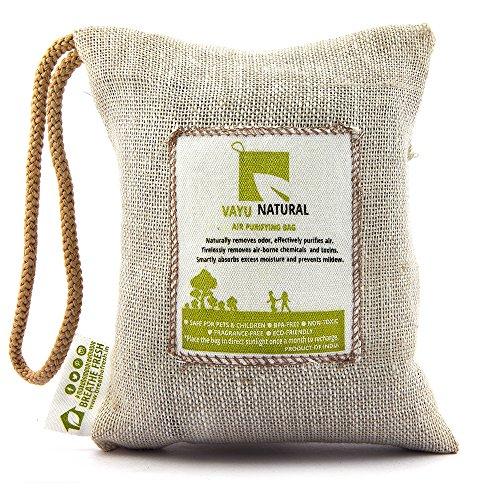 Vayu Natural 100% Activated Charcoal Natural Air Purifier Bag (200 Grams)