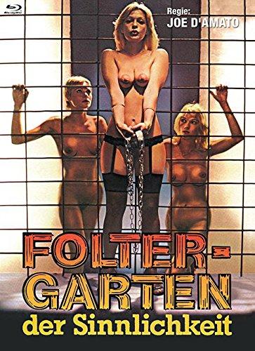 Foltergarten der Sinnlichkeit (Emanuelle e Francoise) - Mediabook Cover B (+ DVD) - Limitiert auf 444 Stück [Blu-ray]