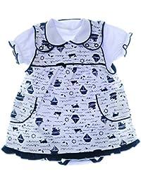Baby & Toddler Clothing Sommer Set 68-74 Mädchen Body & Kleid