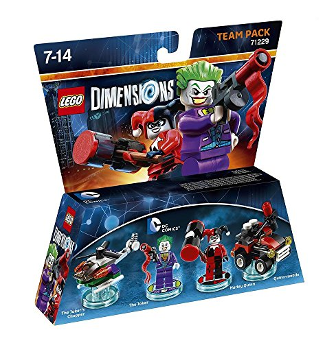 Warner Bros Lego Dimensions Team Pack - DC: Joker & Harley