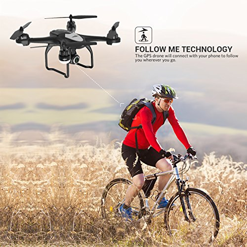Zoom IMG-3 potensic drone gps t18 con