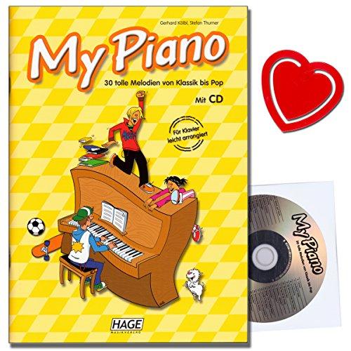 von Gerhard Kölbl mit CD, Notenklammer - 30 tolle Melodien von Klassik bis Pop - geeignet für den Unterricht in der Musikschule ()