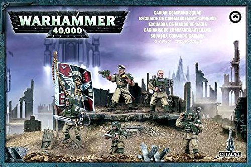 Astra Militarum Cadian Command Squad - Warhammer 40k - 47-09