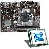 Intel Pentium G4620 / MSI H110M Pro-VD Mainboard Bundle | CSL PC Aufrüstkit | Intel Pentium G4620 2X 3700 MHz, Intel HD Graphics 630, GigLAN, 7.1 Sound, USB 3.1 | Aufrüstset | PC Tuning Kit