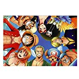 Aux Prix Canons - Poster Affiche prix bas Manga One Piece Equipage 61 x108 cm