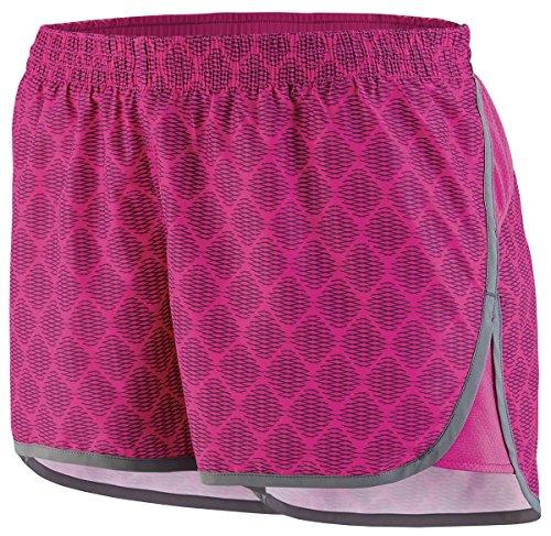 Augusta - Short de sport - Femme Multicolore - Power Pink Plexus Print/Graphite