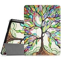 Fintie Samsung Galaxy Tab S2 9.7 Funda - Súper Thin Smart Case Funda Carcasa con Stand Función y Auto-Sueño / Estelar para Samsung Galaxy Tab S2 9.7 pulgadas SM-T810N SM-T815 (Love Tree)