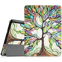 Fintie Samsung Galaxy Tab S2 9.7 Funda - Ultra Slim Smart Case Funda Carcasa con Stand Función y Auto-Sueño / Estelar para Samsung Galaxy Tab S2 9.7 pulgadas SM-T810N SM-T815 (Love Tree)
