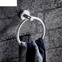 Comparador de precios NAERFB Toalla de Aluminio Espacio Circular/Anillo de Pedestal/Anillo de Toalla de Baño toallero Anillo - precios baratos