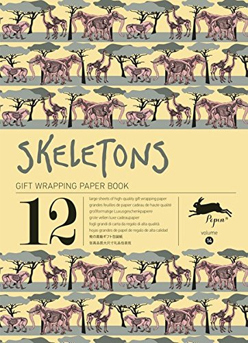 Skeletons: Gift & Creative Paper Book Vol. 14 (Gift Wrapping Paper Book)