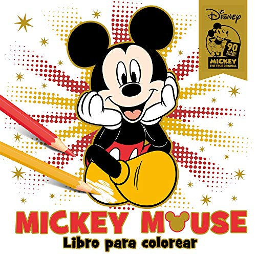 Mickey Mouse. Libro para colorear. Especial 90 aniversario (Disney. Mickey)