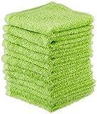NatureMark NM-HT0837 Frottier Seiftücher, 12-er Pack, 30 x 30 cm, 100% Baumwolle, apfel grün