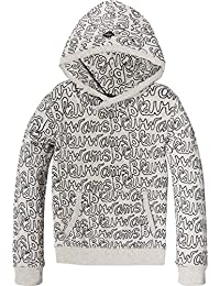 Scotch & Soda Allover Printed Hooded Sweat, Sudadera para Niños