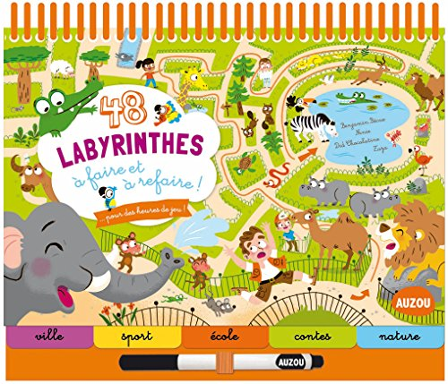 48-labyrinthes-a-faire-et-a-refaire-coll-bloc-notes