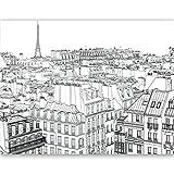 murando Papier peint intissé 450x270 cm Décoration Murale XXL Poster Tableaux Muraux Tapisserie Photo Trompe l'oeil Paris 10060904-35