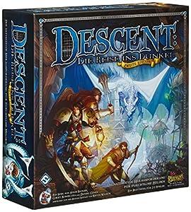 Heidelberger Spieleverlag HEI0600 - Descent: Die Reise ins Dunkel, Juego de Mesa (2ª edición) Importado de Alemania