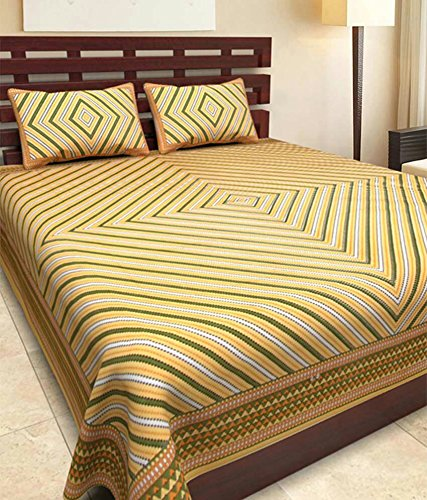 JAIPUR-PRINTS-Cotton-Double-Bedsheet-with-2-Pillow-Covers-CHAPTER80