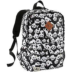 Cabin Max - Bolsa escolar Negro panda