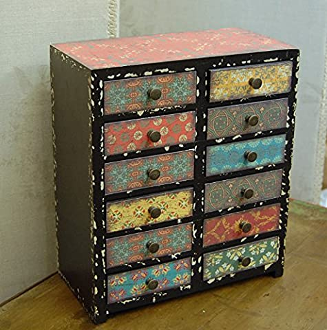 Small vintage style mini set of drawers