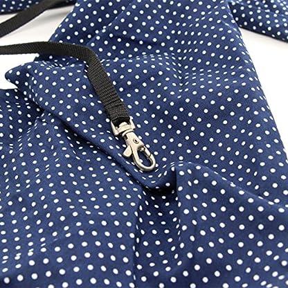 Xcellent Global Denim Sling Carrier Bag for Puppy Pet 21x13x6.7 inch Shoulder Carry Handbag PT017 4