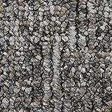 Teppichboden Auslegware | Schlinge gemustert | 200, 300, 400 und 500 cm Breite | dunkel-grau | Meterware, verschiedene Größen | Größe: 7 x 2m